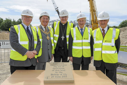Arthur Rank Hospice - Act of Dedication Marks Project Start