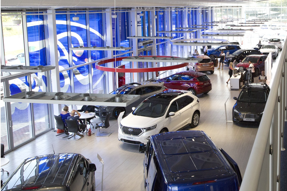 Ford Unveils Flagship Store in Harlow