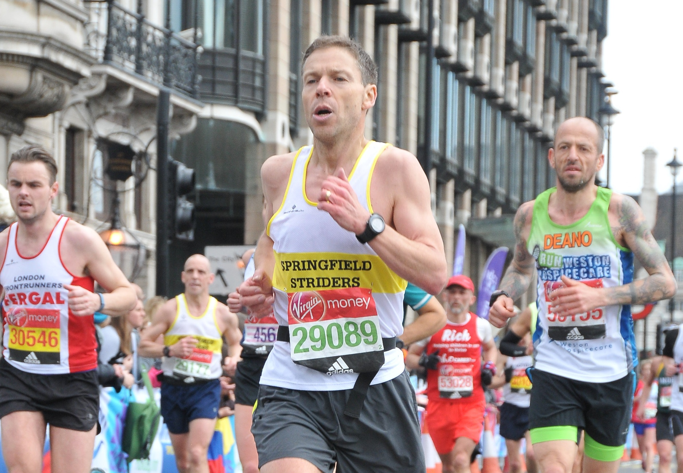 Marathon Personal Best for Peter Chubb
