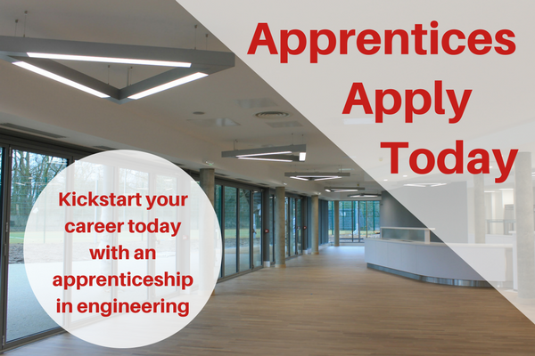 Apprentices Apply Now