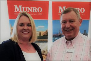 Munro Maximise Potential at B2B Exhibition
