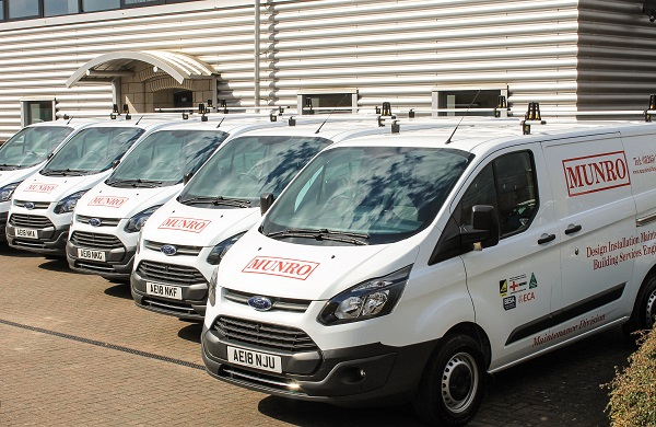 Munro's Spring Clean Fleet
